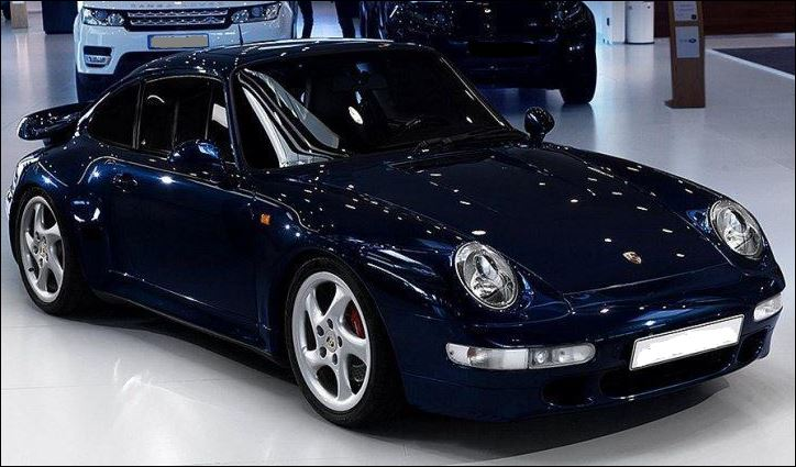 PORSCHE 911 993 TURBO X50 LHD