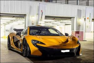 McLaren P1 GTR - Papaya orange. Sold to UK in 2017.