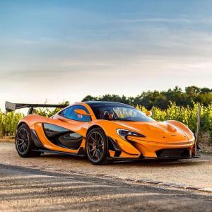 McLaren P1 LM - No,5 of 5. Sold to Switzerland in 2017